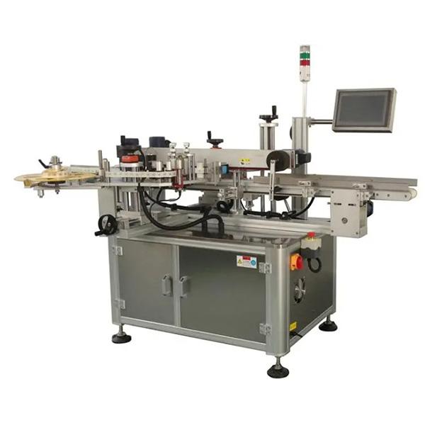 स्वचालित कार्टन कॉर्नर लेबलिंग मशीन - एक या दो साइड कार्टन लेबलर मशीन