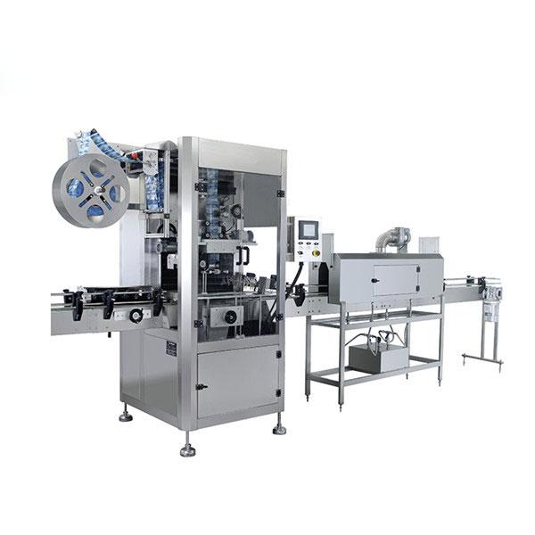 बोतलों के लिए स्वचालित पीवीसी आस्तीन हटना लेबलिंग मशीन