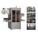 उच्च गति पूर्ण स्वचालित पीवीसी आस्तीन हटना applicator लेबलिंग मशीन