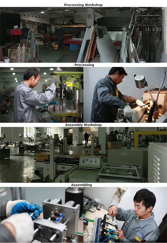 फ्लैट सतह की बोतलें कार्टन बुकलेट लेबलिंग मशीन बनाने के लिए प्रसंस्करण